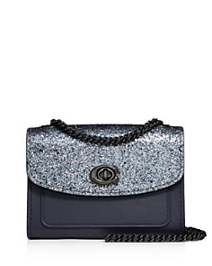 COACH - Parker 18 Glitter Convertible Shoulder Bag