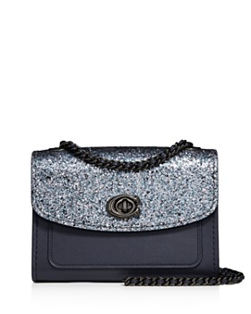 102278310ae0 COACH - Parker 18 Glitter Convertible Shoulder Bag ...