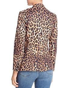 Olivaceous - Leopard Print Blazer