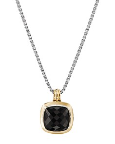 David Yurman - Albion Pendant with 18K Yellow Gold & Black Onyx