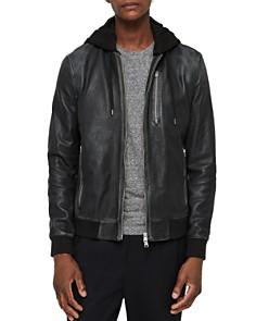 ALLSAINTS - ALLSAINTS Abbot Leather Bomber Jacket