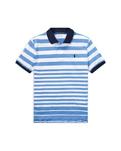 Ralph Lauren - Boys' Striped Performance Polo - Big Kid