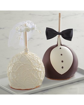 Mrs Prindables - Bride and Groom Apple Set