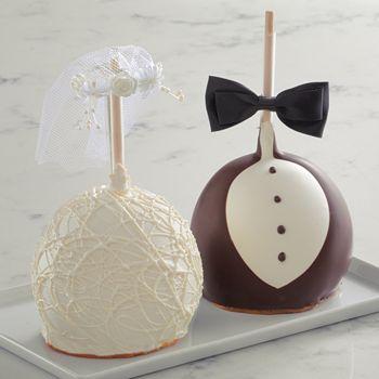 Mrs Prindables - Bride and Groom Apple Set
