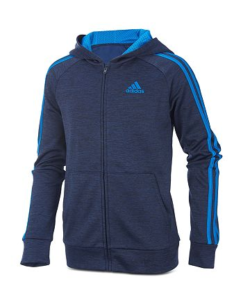 Adidas - Boys' Fleece Zip-Up Hoodie - Little Kid, Big Kid