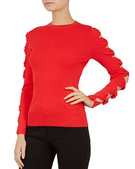 Ted Baker - Yonoh Cutout Bow-Sleeve Sweater