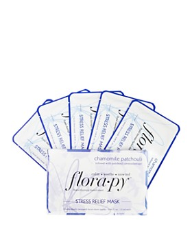Florapy - Chamomile Patchouli Stress Relief Floral Therapy Sheet Masks, Set of 5