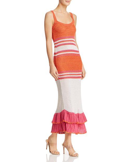 Suboo - Carmen Ruffled Knit Dress