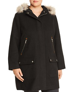 Bagatelle Plus - Hooded Zip-Pocket Coat