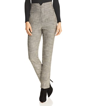 Rebecca Taylor - Glen Plaid Pants