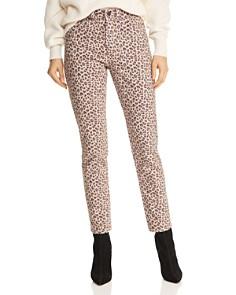 Rebecca Taylor - Ocelot Ines Jeans in Dark Champagne Combo
