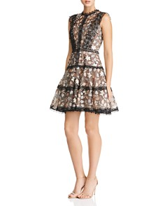 BRONX AND BANCO - Tiana Embellished Mini Dress