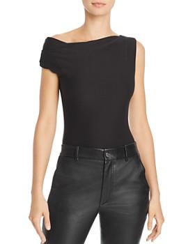 ec37410959 Alix - Logan Asymmetric Bodysuit ...
