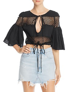 A Mere Co. - Gustavia Crochet Detail Top
