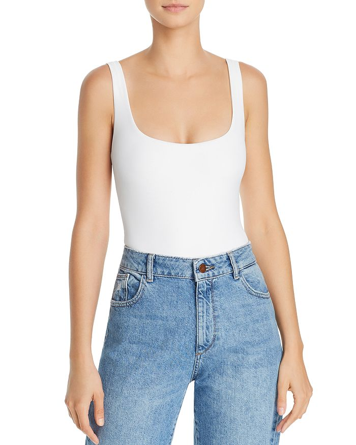 Alix MOTT SCOOP-NECK BODYSUIT
