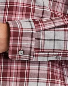 BOSS - Lukas Plaid Regular Fit Flannel Shirt