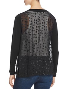 Donna Karan - Sheer Back Cardigan