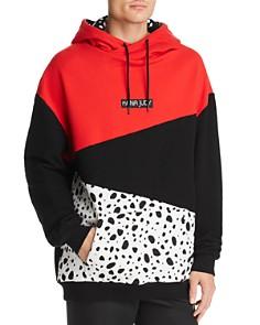 nANA jUDY - x Disney Dalmatian Color-Block Hooded Sweatshirt