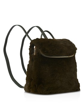 650d8c6432 ... Whistles - Verity Mini Faux Fur Backpack