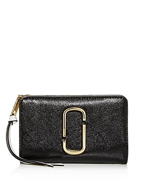 Marc Jacobs Compact Continental Leather Wallet