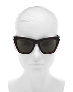 Saint Laurent - Women's Cat Eye Sunglasses, 57mm