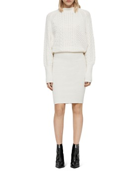 ALLSAINTS - Dilone Blouson Sweater Dress