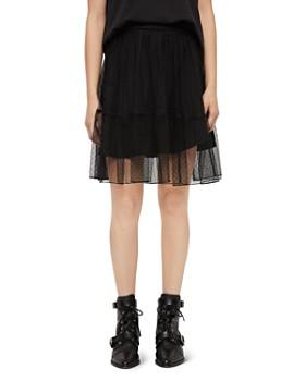 ALLSAINTS - Lali Point D'Esprit Skirt