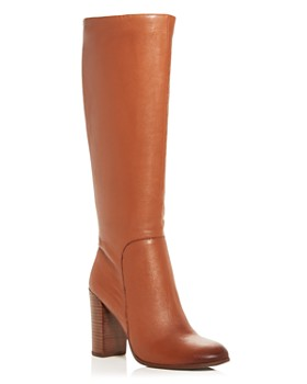 f1fc418cf0a Kenneth Cole - Women s Justin High Block-Heel Boots ...