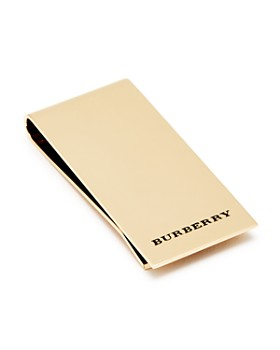 Burberry - Engraved Money Clip