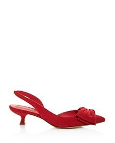 Salvatore Ferragamo - Women's Reda Slingback Kitten-Heel Pumps