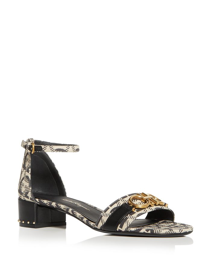 Salvatore Ferragamo - Women's Como Ankle Strap Block-Heel Sandals
