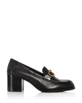 903aecf2f9e53 ... Salvatore Ferragamo - Women s Rolo Moc-Toe Block-Heel Loafers