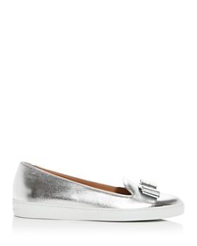 Salvatore Ferragamo - Women's Novello Slip-On Sneakers