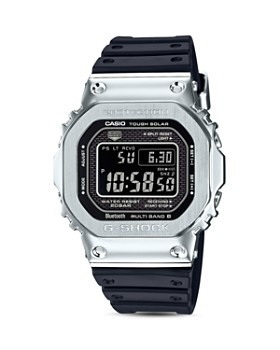 G-Shock - Masterpiece Silver & Black Watch, 42.8mm x 48.9mm