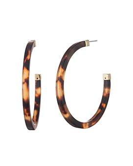 Ralph Lauren - Tortoise Hoop Earrings