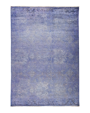 Solo Rugs Vibrance Omaha Hand-Knotted Area Rug, 6'3 x 9'3