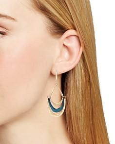 Robert Lee Morris Soho - Sculptural Multi Row Drop Earrings