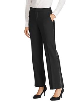 Ralph Lauren - Tuxedo Stripe Straight Pants