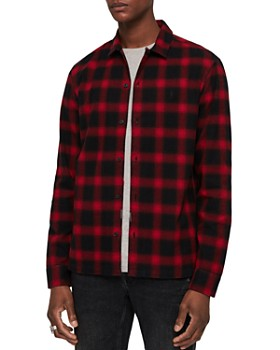 ALLSAINTS - Clyde Checked Slim Fit Button-Down Shirt
