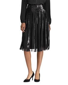 Ralph Lauren - Sequin Tulle Pleated Skirt