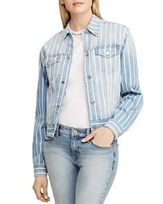 Ralph Lauren - Stripe Denim Jacket