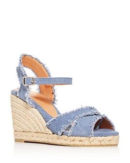 Castañer - Women's Bromelia Crisscross Platform Wedge Espadrille Sandals
