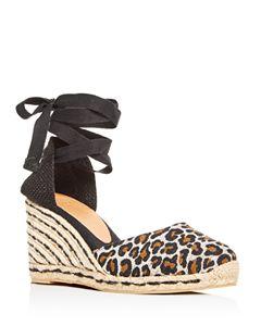cf926322127 Botkier Women s Jamie Leather Espadrille Wedge Sandals