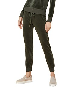 Juicy Couture Black Label - Luxe Zuma Velour Jogger Pants