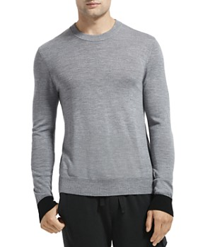 ATM Anthony Thomas Melillo - Contrast-Cuff Merino Wool Sweater