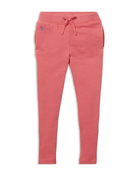 Ralph Lauren - Girls' French Terry Jogger Pants - Big Kid