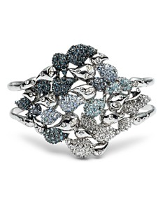 Alexis Bittar - Crystal Encrusted Ombre Paisley Cuff Bracelet