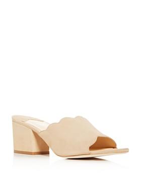 Isa Tapia - Women's Chiqui Block-Heel Slide Sandals
