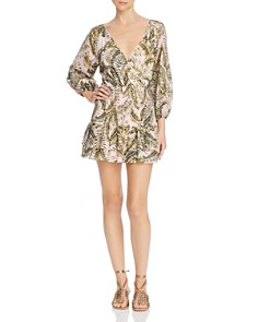 Suboo - Palma Faux-Wrap Mini Dress