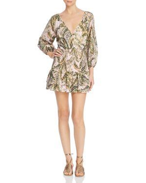 Suboo Palma Faux-Wrap Mini Dress